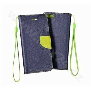 Pouzdro Fancy Book case HUAWEI P10 navy-lime
